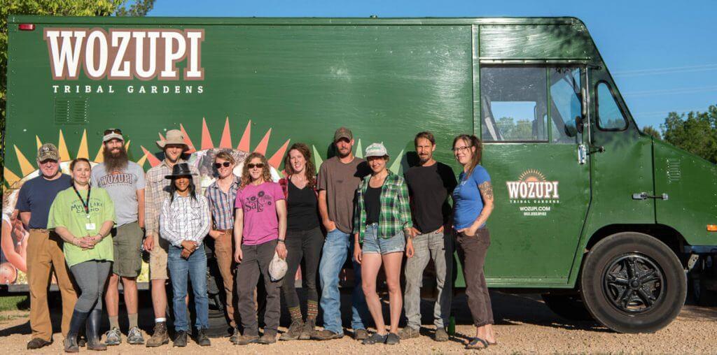Wozupi Tribal Gardens Team
