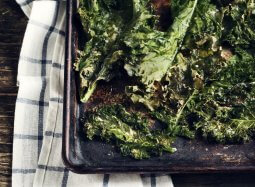 Baked Kale Chip