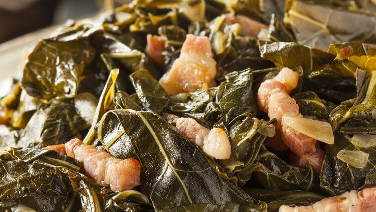 Braised Mustard Greens - Wozupi Tribal Gardens