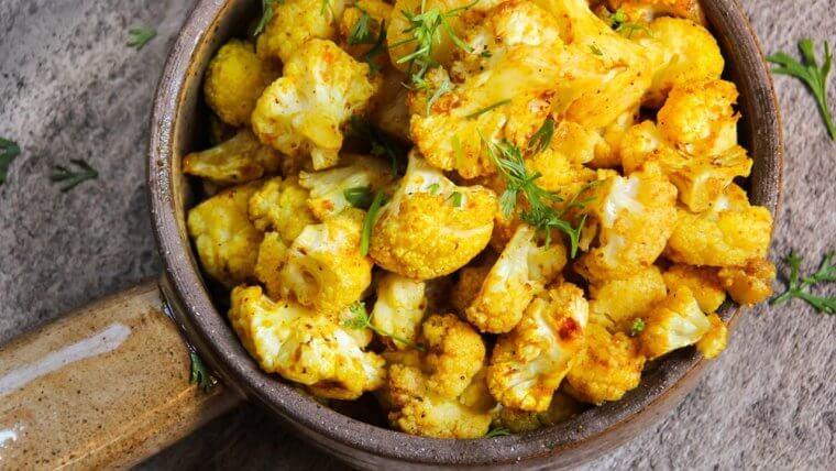 Curried Cauliflower