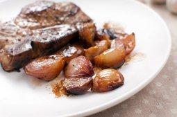 Caramelized Shallot and Sage Mashed Potatoes