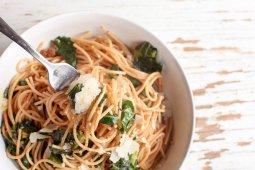 Spaghetti and Kale