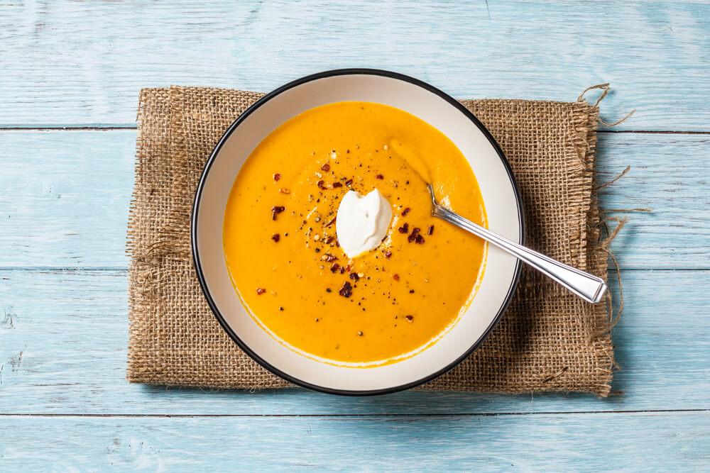 cream of squash soup