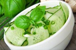 Cucumber Basil Salad