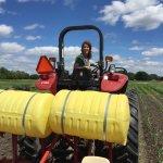 wozupi tribal gardens tractor farming