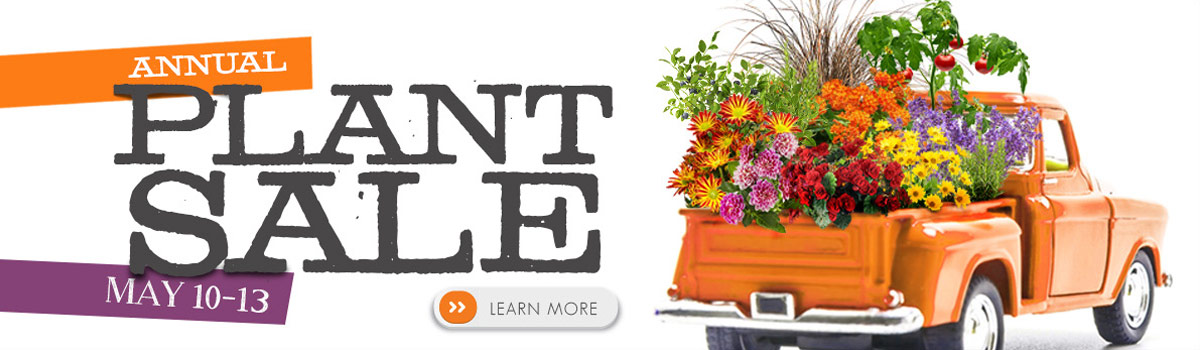 Wozupi Annual Plant Sale May 10-13 2017