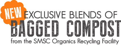 Exclusive Blends of Bagged Compost from SMSC Organics Facility