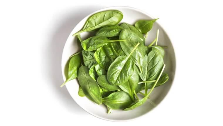 warm spinach salad recipe
