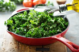 quick easy kale side dish