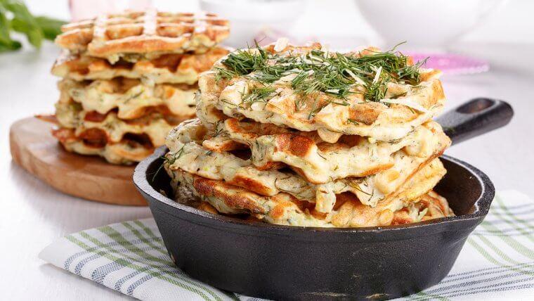 Fennel Waffles