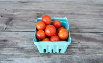 carton of cherry tomatoes